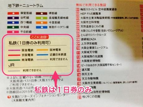 大阪周遊パス-私鉄