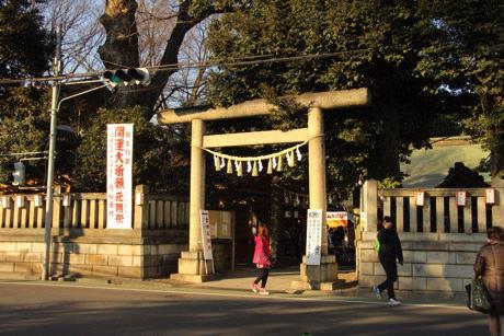 川越氷川神社-入り口