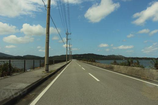西表島 海中道路