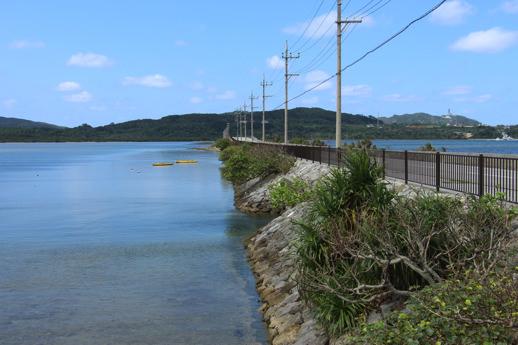 西表島 海中道路1