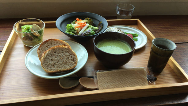 sahanパン定食