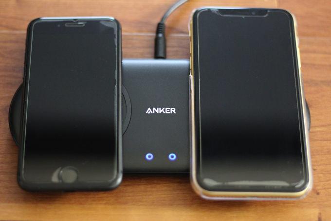 Anker PowerWave 10 Dual Pad_2台同時充電
